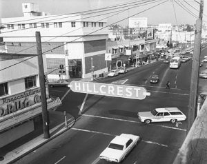 Hillcrest, circa 1969.